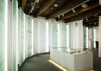 Death exhibition interior