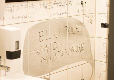 Pööbel wc wall