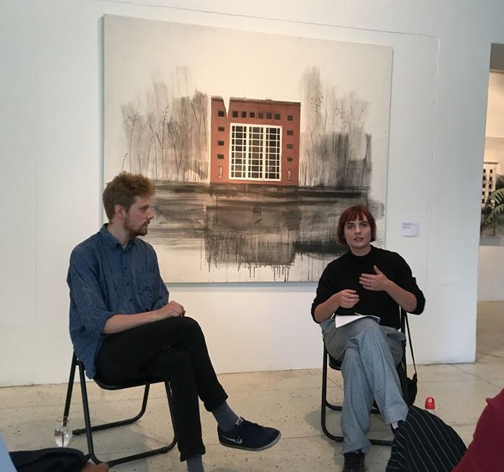 Finissage + artist talk = Dystopic Tallinn